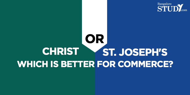 Christ or St. Joseph's - Which is Better for Commerce?