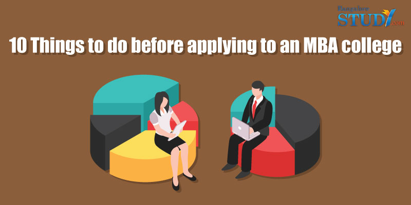 10 things to do before applying to an MBA College