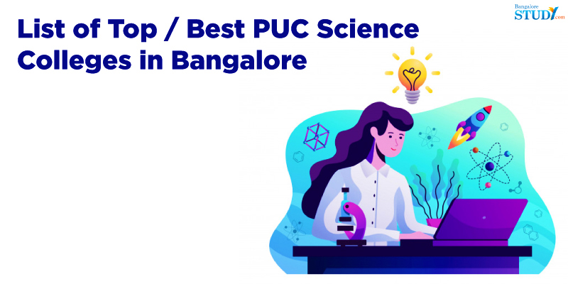 List of top PU Colleges for Science