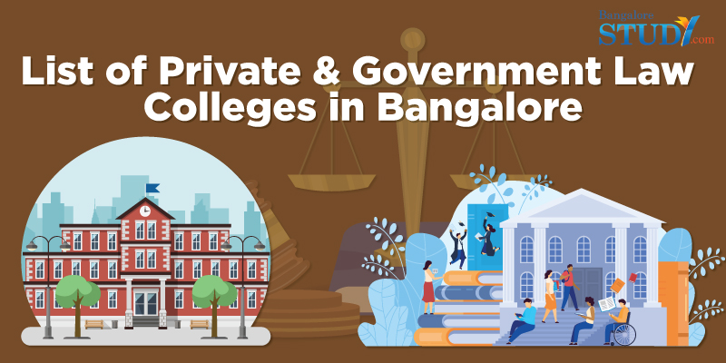 List of Private and Government Law Colleges in Bangalore